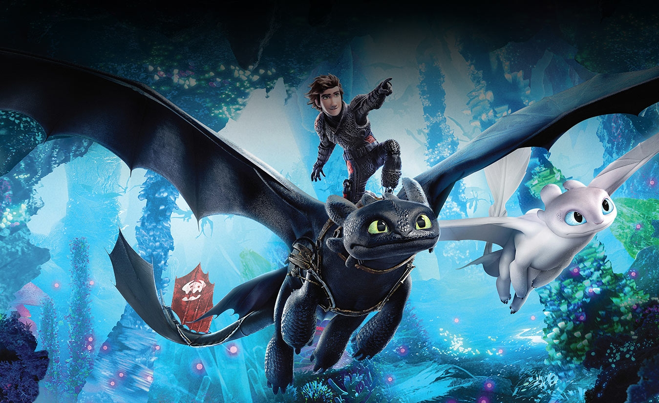 How To Train Your Dragon The Hidden World - 2D